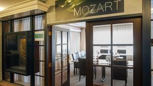 Entrance to the Mozart room