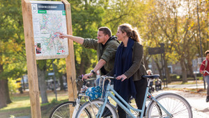 Walking & Cycling routes